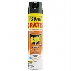 INSETICIDA RAID MULTI INSETOS BASE AGUA 300ML GRATIS 150ML
