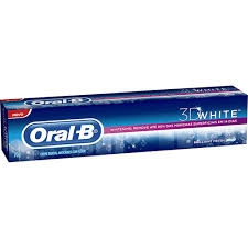 CREME DENTAL ORAL B 3D WHITE BRILLIANT FRESH 70G