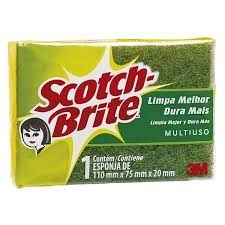 ESPONJA SCOTCH BRITE MULTIUSO 3 M