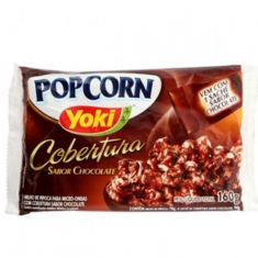 POP CORN YOKI COBERTURA CHOCOLATE 160G