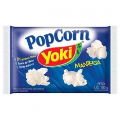 POP CORN YOKI MANTEIGA 100GRS
