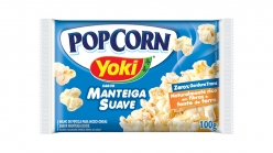 POP CORN YOKI MANTEIGA SUAVE 100GRS