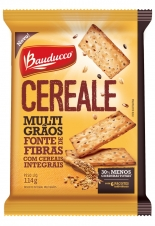 BISCOITO BAUDUCCO CEREALE MULTIGRAOS PACOTE INDIVIDUAL 114G