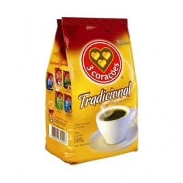 CAFE 3 CORACOES TRADICIONAL 500G