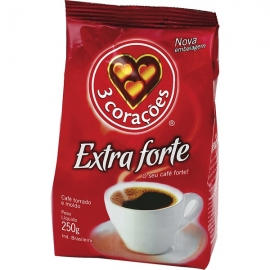 CAFE 3 CORACOES EXTRA FORTE 250G