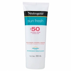 PROTETOR SOLAR NEUTROGENA SUN FRESH FPS50 200ML