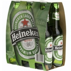 CAIXA HEINEKEN LONG NECK 330ML - 6 UNIDADES