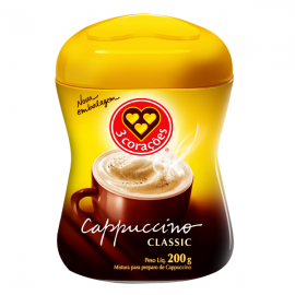 CAPPUCCINO 3 CORACOES CLASSIC 200G