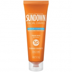 PROTETOR SOLAR FACIAL SUNDOWN FPS50 50G