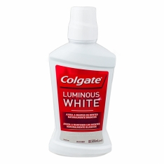 ENXAGUANTE BUCAL COLGATE LUMINOUS WHITE 500 ML
