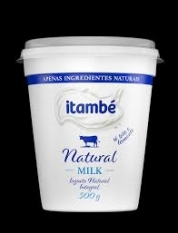 IORGUTE NATURAL  MILK INTEGRAL ITAMBÉ 500GR