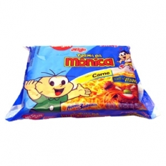 MACARRAO INSTANTANEO NISSIN MONICA SABOR CARNE 85GRS
