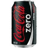COCA COLA ZERO 350ML LT