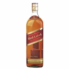 WHISKY IMPORTADO RED LABEL JOHNNIE WALKER 1L